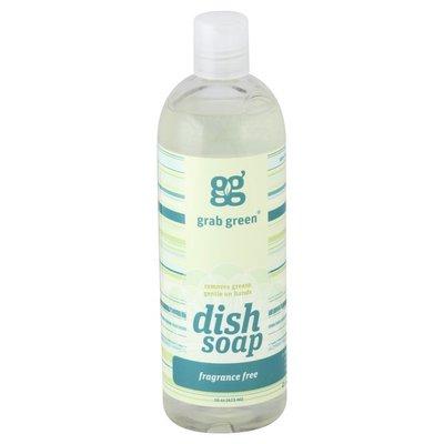 Grab Green Dish Soap, Fragrance Free