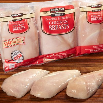 Kirkland Signature Fresh Boneless & Skinless Chicken Breast