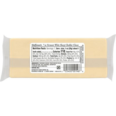 Hoffman'S Vermont White Cheddar Cheese