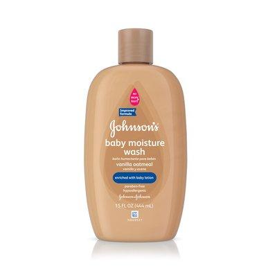 Johnson's Baby Vanilla Oatmeal Wash