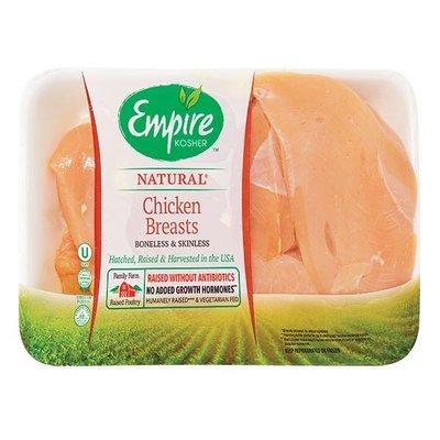 Empire Kosher Boneless & Skinless Chicken Breasts