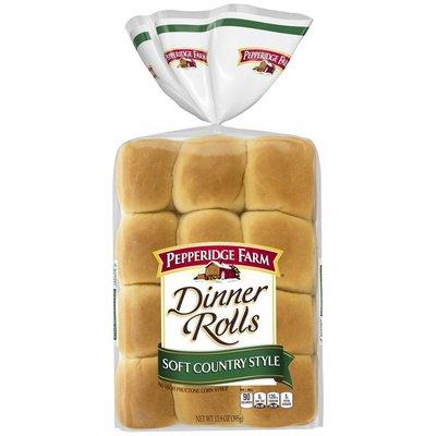 Pepperidge Farm® Soft Country Style Dinner Rolls