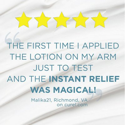 Curél Hand and Body Lotion, Calming Dry Itchy Skin Formula