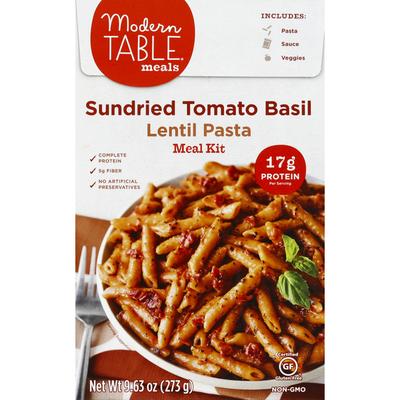 Modern Table Meals Meal Kit, Lentil Pasta, Sundried Tomato Basil