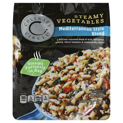 Culinary Circle Steamy Vegetables, Mediterranean Style Blend
