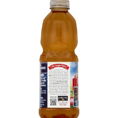 Langers 100% Juice, Apple