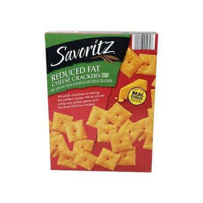 Savoritz Reduced Fat Cheese Cracker