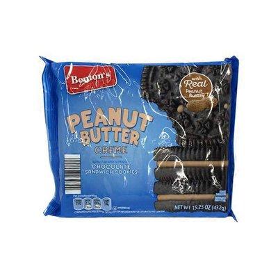 Benton's Chocolate Peanut Butter Sandwich Creme Cookies