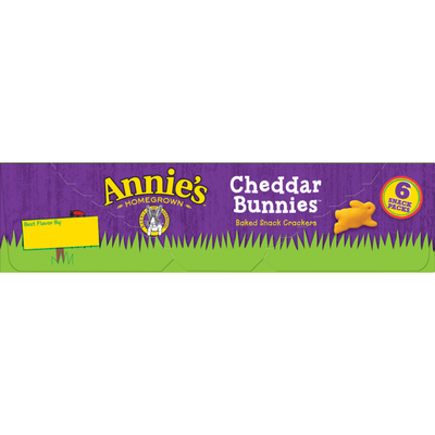 Annie's Cheddar Bunnies, Baked Cheese Crackers