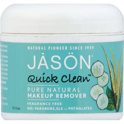 JĀSÖN Makeup Remover, Quick Clean, Fragrance Free