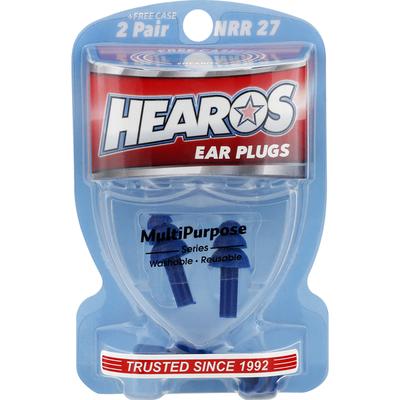 Hearos Ear Plugs, Multi Purpose