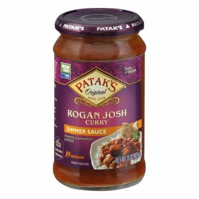 Patak's Simmer Sauce, Rogan Josh Curry, Medium