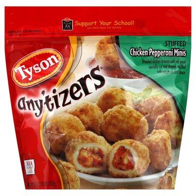 Tyson Chicken Pepperoni Minis, Stuffed