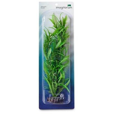 Imagitarium Large Green Background Plastic Aquarium Plant