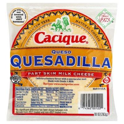 Cacique Queso Quesadilla Part Skim Milk Cheese