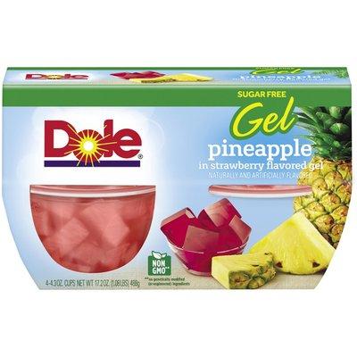 Dole Sugar-Free Pineapple in Strawberry Gel