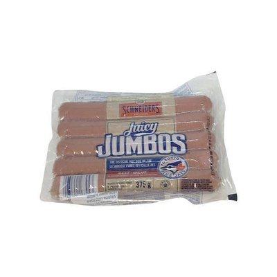 Schneiders Juicy Jumbos All Beef Wieners