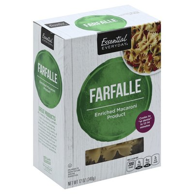 Essential Everyday Enriched Macaroni Product Farfalle