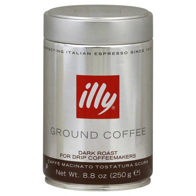Illy Coffee, Ground, Dark Roast