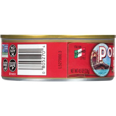 Portofino Albacore Tuna, Solid, in Extra Virgin Olive Oil with Sea Salt