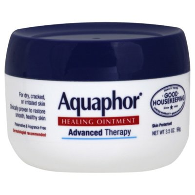 Aquaphor Advanced Therapy Healing Ointment Skin Protectant Jar