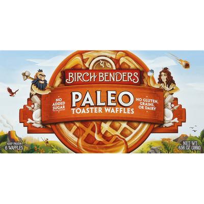 Birch Benders Toaster Waffles, Paleo