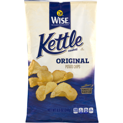 Wise Kettle Cooked Original Potato Chips