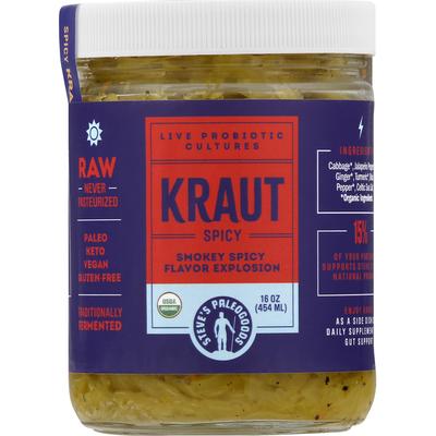 Steves PaleoGoods Kraut, Spicy