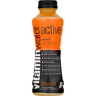 vitaminwater Active Werk It Orange Mango