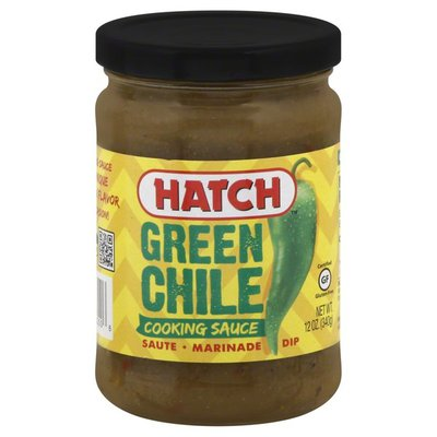 Hatch Cooking Sauce, Green Chile