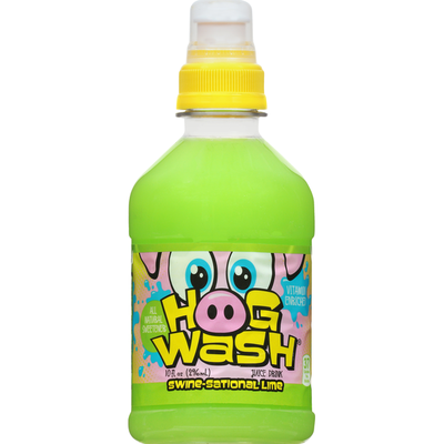 Hog Wash Juice Drink, Swine-Sational Lime