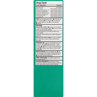 bioAllers Allergy Treatment, Sinus & Allergy, Nasal Spray