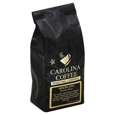 Carolina Coffee Coffee, Ground, Medium Roast, Mocha Java
