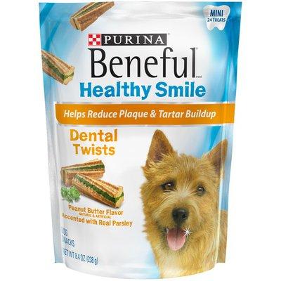 Beneful Healthy Smile Twists Mini Dental Dog Snacks