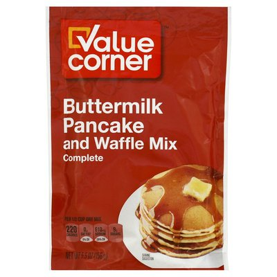 Value Corner Buttermilk Pancake And Waffle Mix Complete