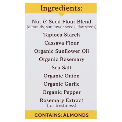 Simple Mills Rosemary & Sea Salt Almond Flour Crackers