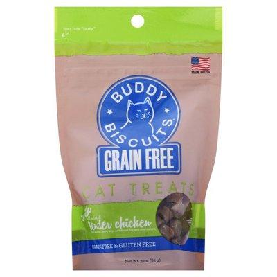 Buddy Biscuits Cat Treats, Grain Free, Tender Chicken