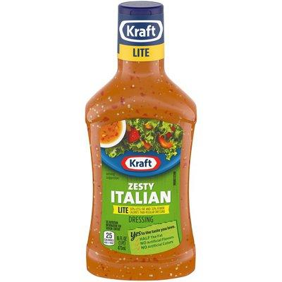 Kraft Zesty Italian Lite Salad Dressing
