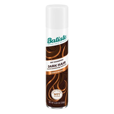 Batiste Dry Shampoo, Divine Dark, 6