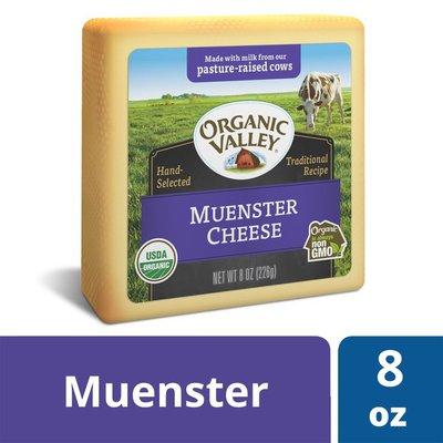 Organic Valley Organic Muenster Cheese Block