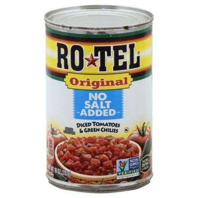 Ro-Tel Diced No Salt Added Tomatoes