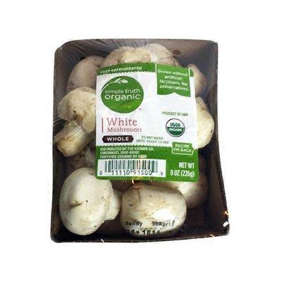 Simple Truth Whole White Mushrooms