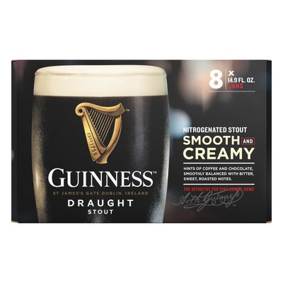 Guinness Draught Beer, Cans