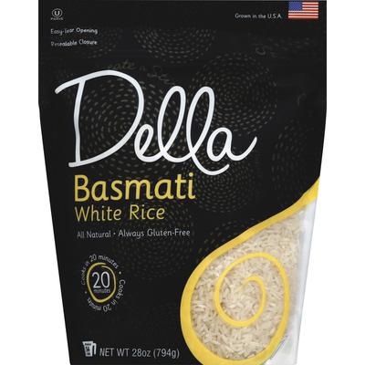 Della White Rice, Basmati