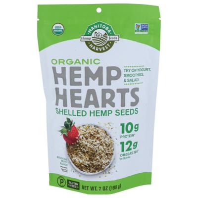 Manitoba Harvest Hemp Seeds, Shelled, Organic, Hemp Hearts