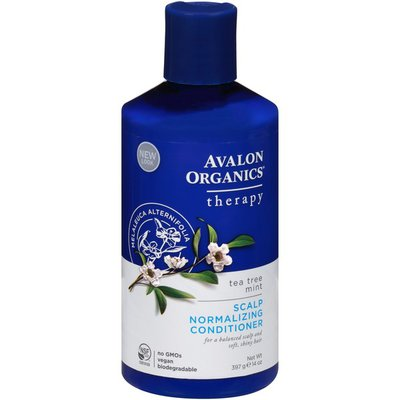 Avalon Organics Therapy Tea Tree Mint Scalp Normalizing Conditioner