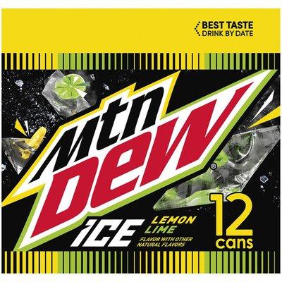 Mtn Dew Ice Lemon Lime Soda
