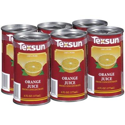 Texsun Unsweetened Orange Juice, Case