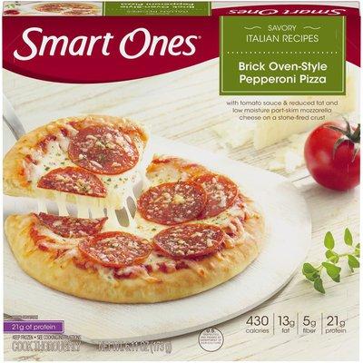 Smart Ones Savory Italian Recipe Brick Oven-Style Pepperoni Pizza