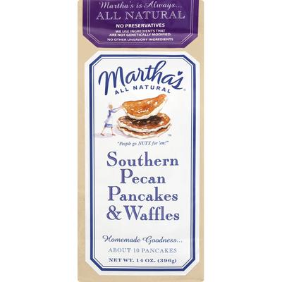Marthas Pancakes & Waffles, Southern Pecan